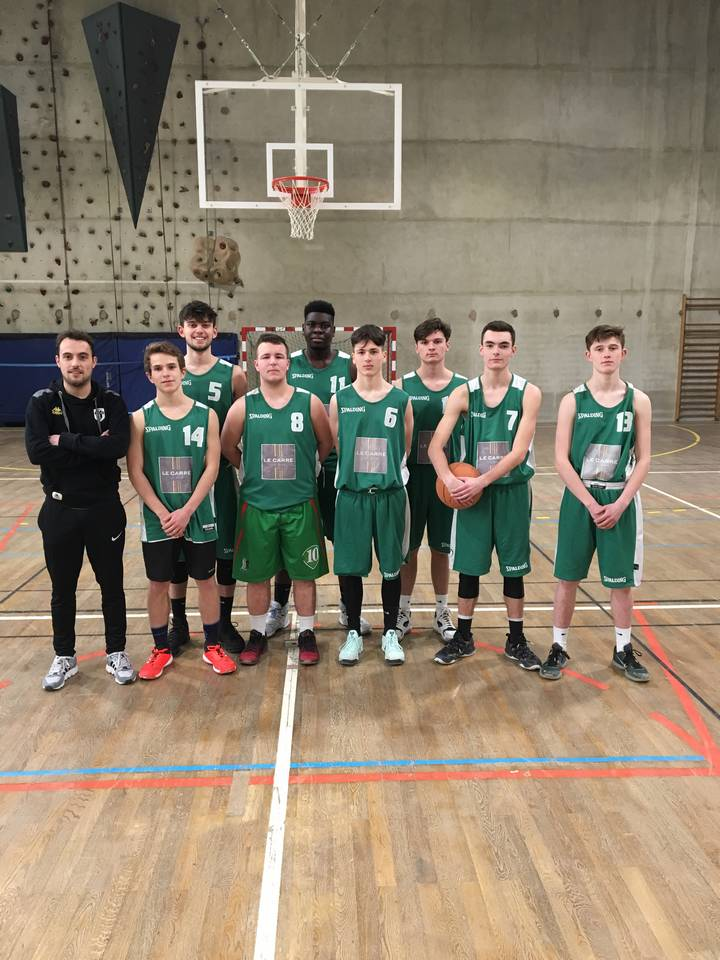 Finale inter-régionale de basket Junior à Caen
